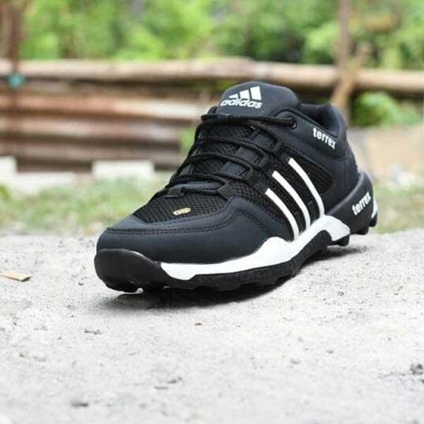 Sepatu Sport Outdoor Adidas AX2 Hitam Putih [SOA16112