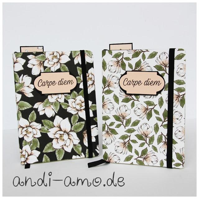 Notizbücher Magnolienweg Stampin Up andi-amo