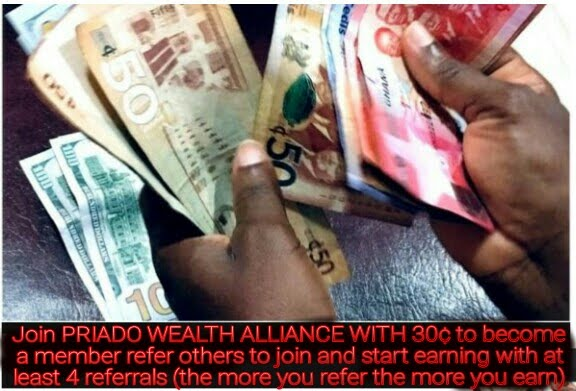 Work Online from Home or Office Join PRIADO WEALTH ALLIANCE  WITH 30¢ click on image to learn more