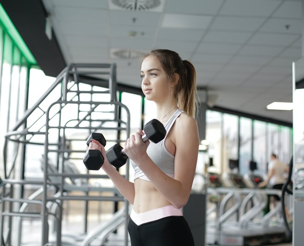 Girl, Girl Workout, Dumbell, Pre Wedding Weight Loss, Slimming Tips, Fitness