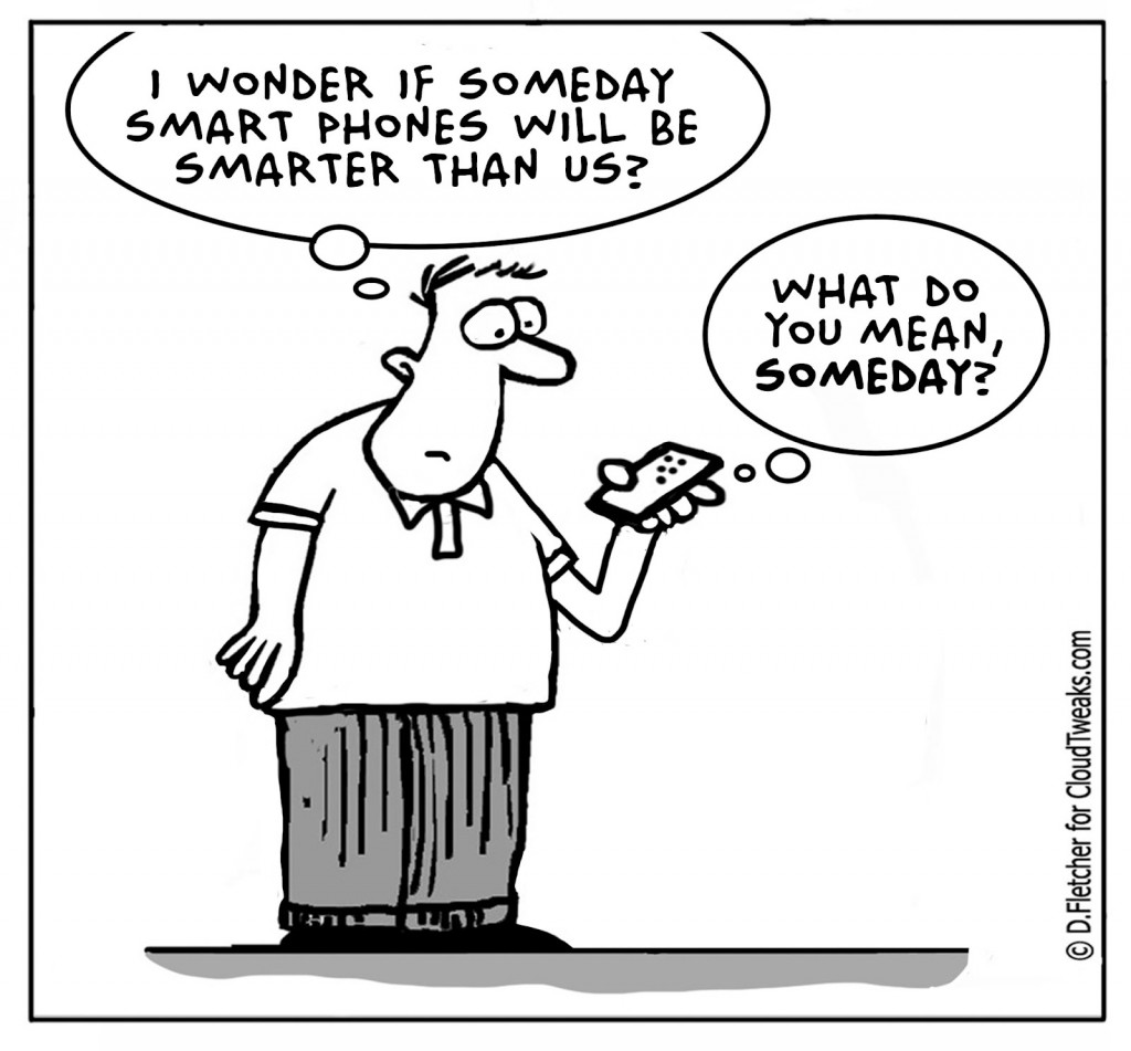 Great Longing Of Originality: What if the Cellphones