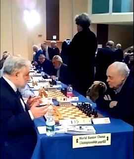 Partida de ajedrez Anatoly Vaisser – Jaume Anguera, 2017