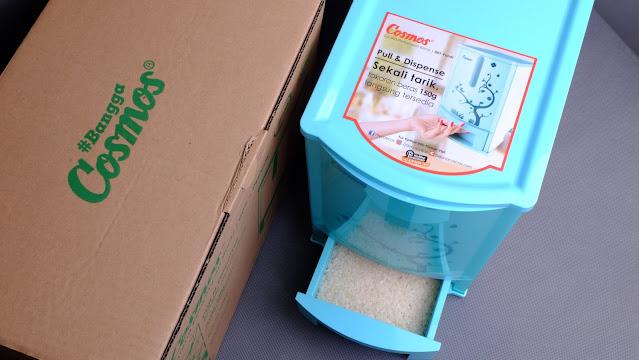 Tempat penyimpanan beras anti kuti