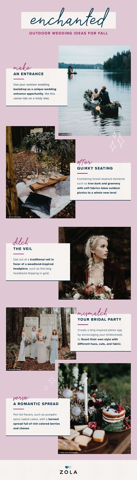 Autumn Wedding Ideas You Will Love – wedding ideas - Wedding Soiree Blog by K'Mich, Philadelphia's premier resource for wedding planning organizer and inspiration