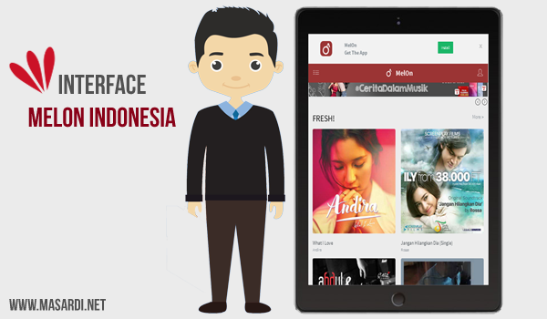 Interface Melon Indonesia