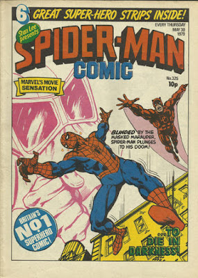 Spider-Man Comic #325, Daredevil and the Masked Marauder