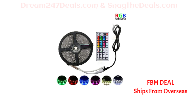 80% OFF 30M LED Strip RGB Waterproof Colorful Light Strip