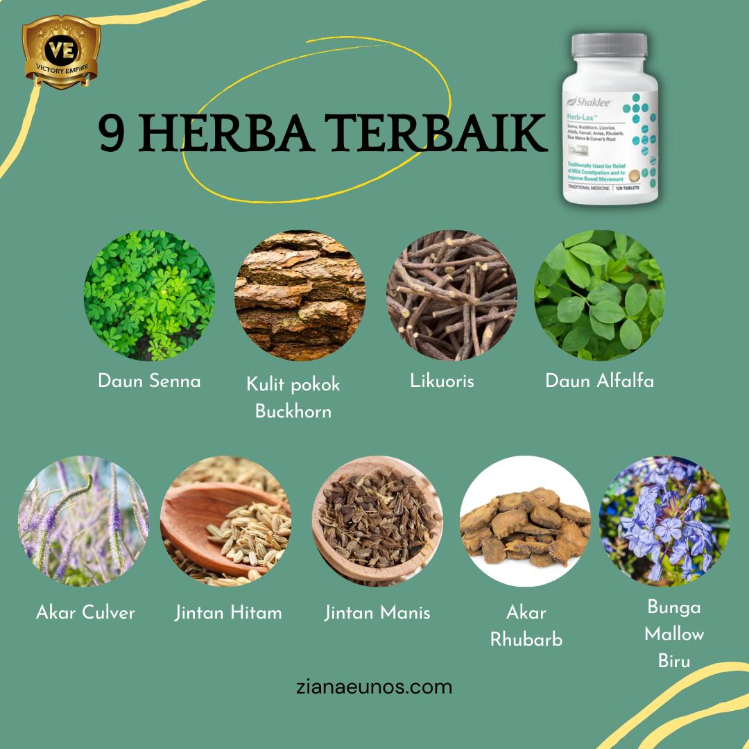 Bahan herblax shaklee