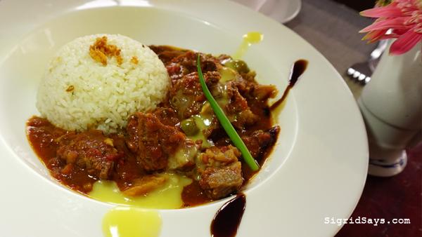 Al Dente Ristorante Italiano - Iloilo restaurants - beef brisket