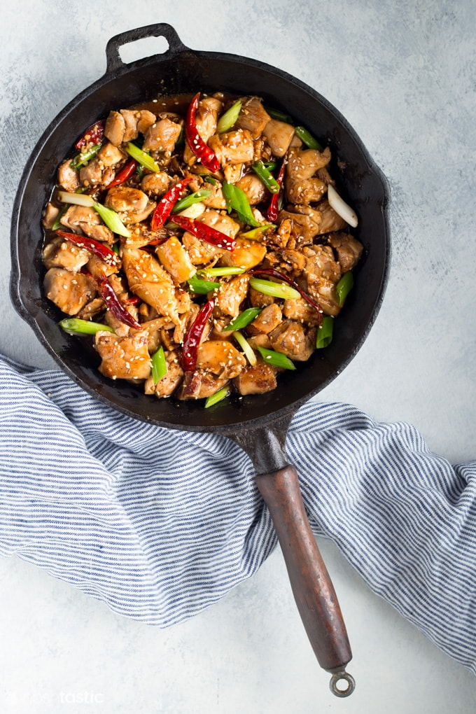 Low Carb General Tso's Chicken