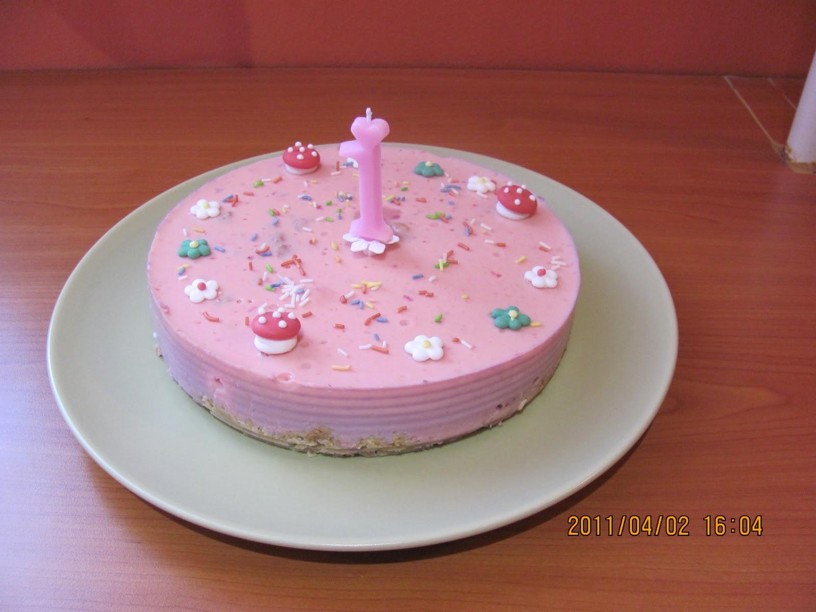 szülinapi torta babának Andi Kaszi család: Joghurt torta babáknak szülinapi torta babának