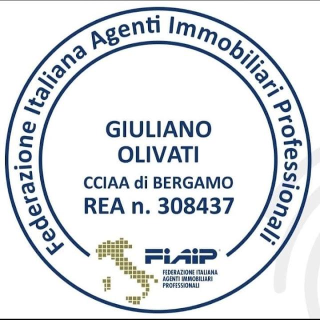 Giuliano Olivati agente Immobiliare Fiaip Bergamo