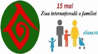 15 mai: Ziua internațională a familiei