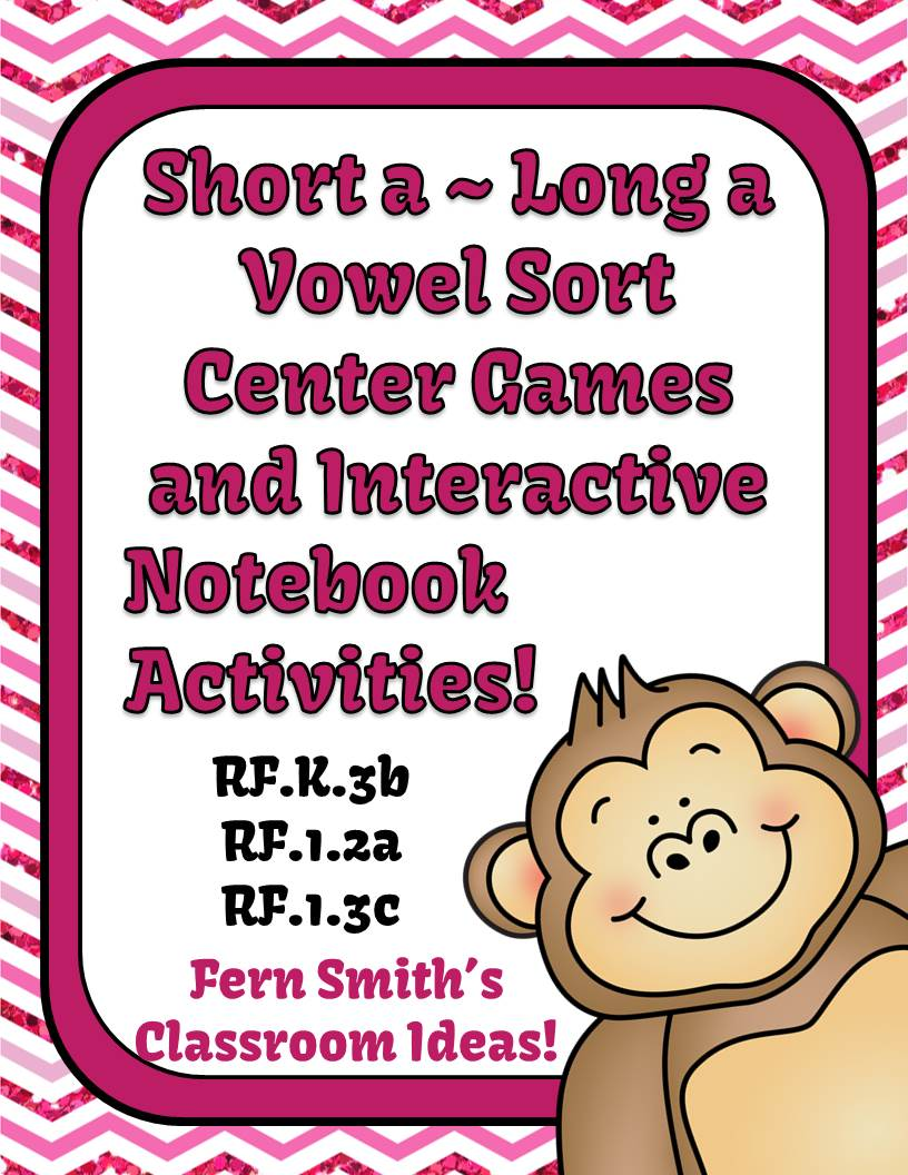 http://www.teacherspayteachers.com/Product/Vowel-Sorting-Short-a-Long-a-Center-Games-and-Interactive-Notebook-Activities-942867