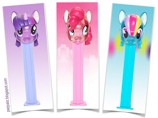 Glitter My Little Pony Pez Coming This Month