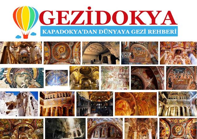 Kapadokya Kiliseleri - Cappadocia 400 church