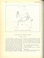 """One of Geisel's early cartoons from the Jacko-O-Lantern attributed to """"T. Seuss."""""""