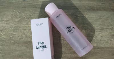 Nacific Pink AHA BHA Toner Review