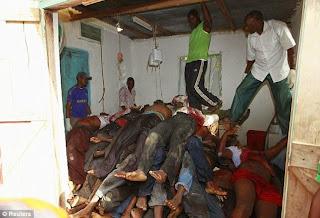 Daawo Sawirada dadkii lagu laayay Deegaanka Mpeketoni oo katirsan Jaziirada Lamu ee Dalka Kenya