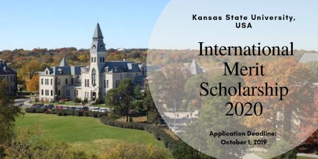 منحة دراسية تتراوح قيمتها بين 4000 دولار إلى 7500 دولار لكل طالب تقدمها جامعة كانساس ستيت الدولية  في الولايات المتحدة الأمريكية