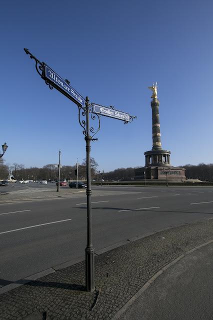 Obelisco del Siegessaule-Berlino