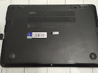 Bongkar Laptop HP EliteBook 745 G3, Upgrade HDD/SSD M.2, RAM, dan Ganti Baterai