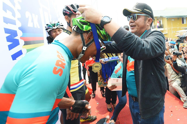 Herman Deru Minta Sriwijaya Ranau Gran Fondo 2020 Lebih Meriah