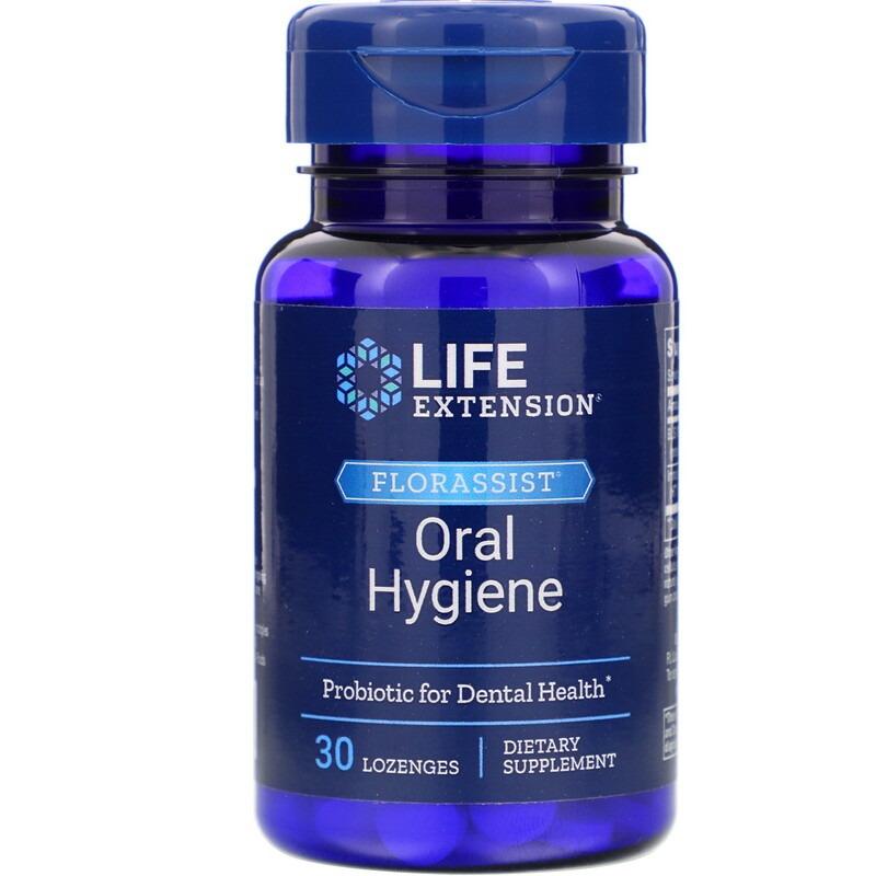 Life Extension, FLORASSIST гигиена полости рта, 30 леденцов