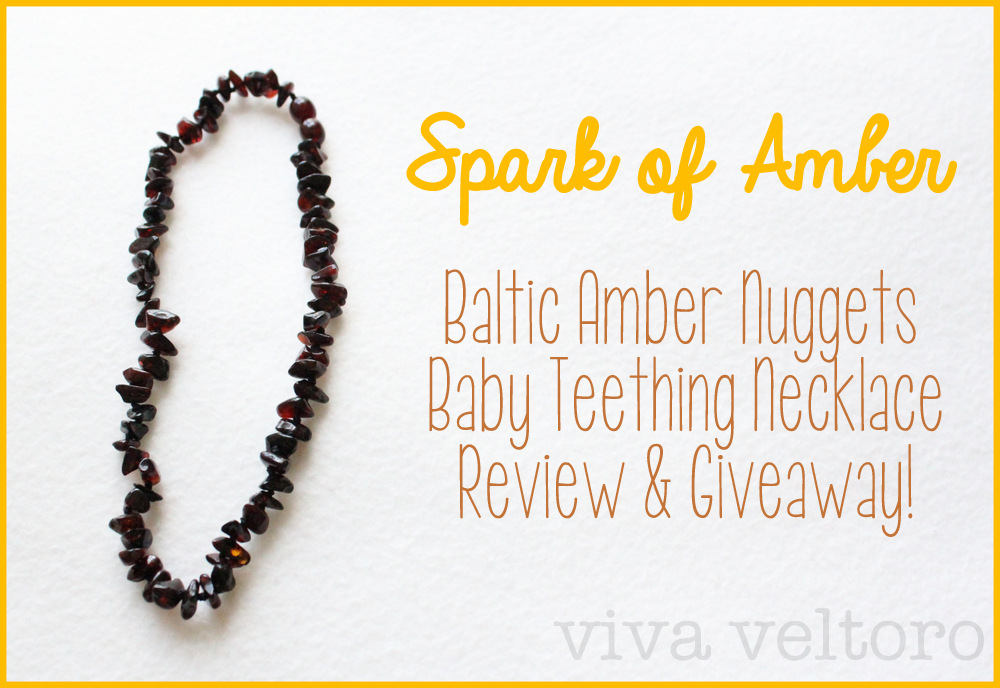 Spark of Amber Teething Necklace Review and Giveaway! - Thrifty ...