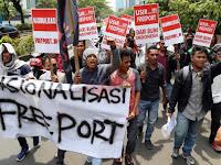 Pemerintah Hanya Omong Kosong, Pada Akhirnya Freeport Pun Pecundangi Indonesia