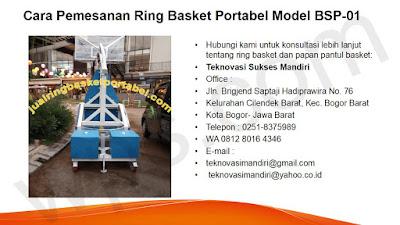 pesan ring basket portable