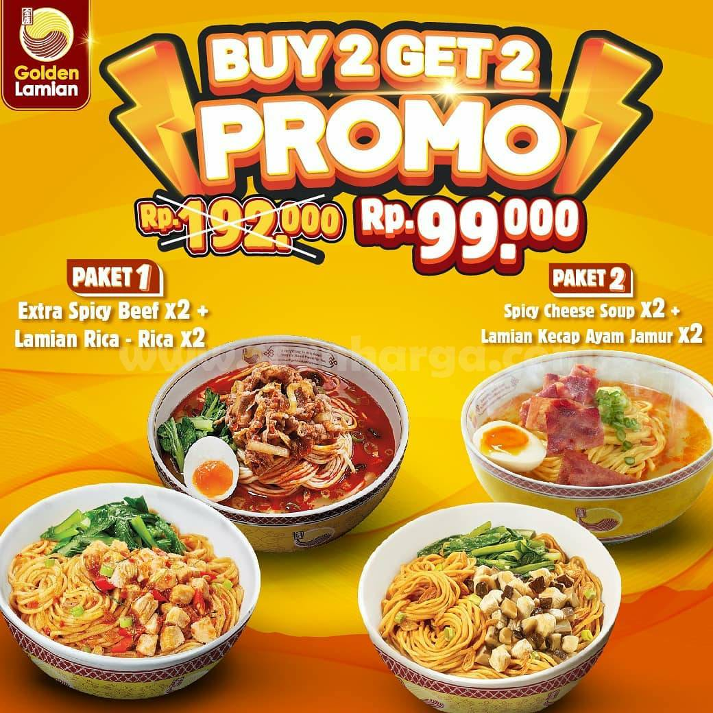 Golden Lamian Promo Buy 2 Get 2 Free*