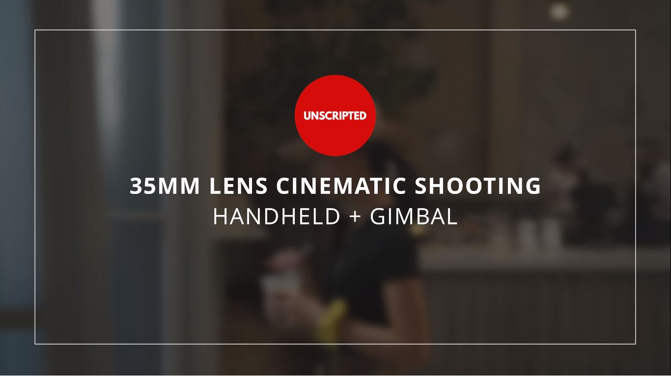 My favorite filmmaking lens! Sony 35mm f1.8 Handheld + Gimbal Tutorial