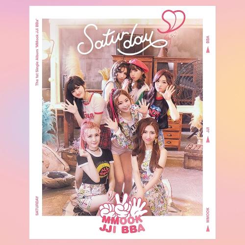 SATURDAY – The 1st Single Album `MMook JJi BBa`