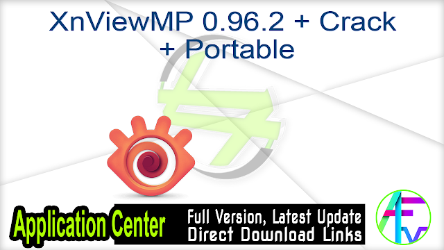 XnViewMP 0.96.2 + Crack + Portable
