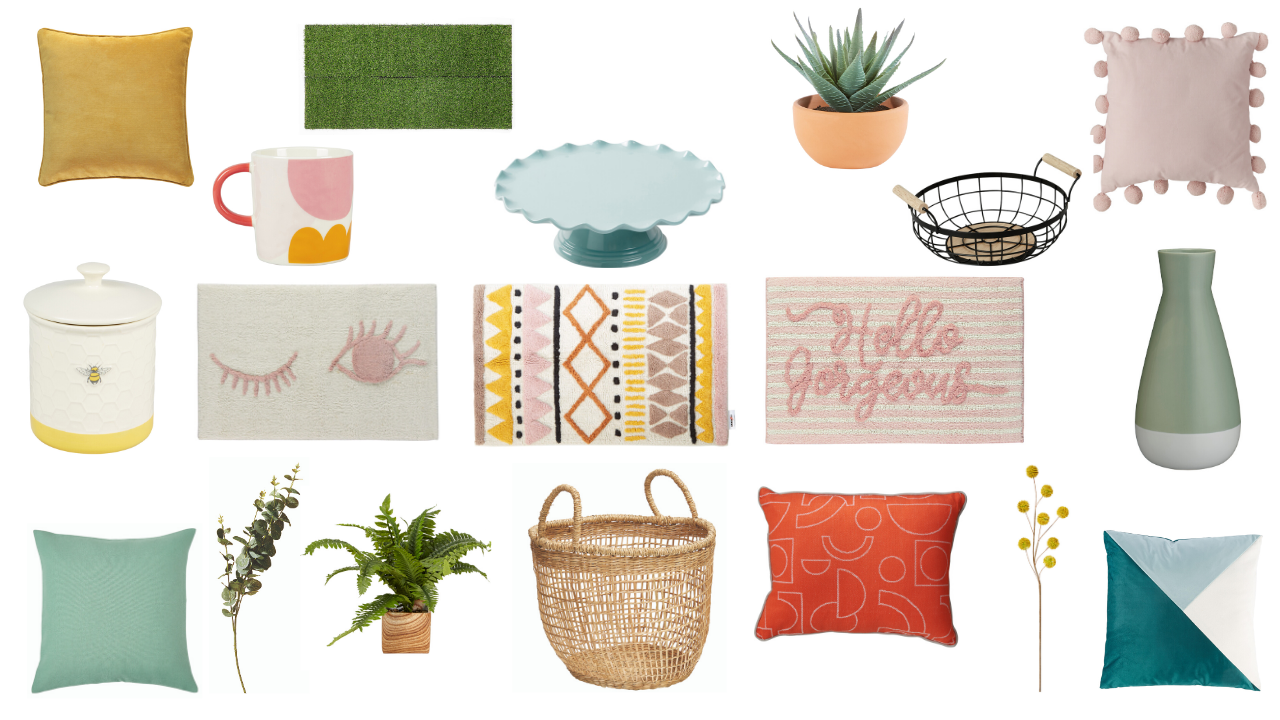 Update your home for Spring Summer 2020 with my pick of the best value budget homeware and interior buys on the high street this new season. Think pastel coloured cushions, throws and vases, plus lots of artificial plants and flowers. Give your home a refresh for the new season on a tight budget. Interior styling tips, and advice on how to choose accessories for the rooms in your house.
