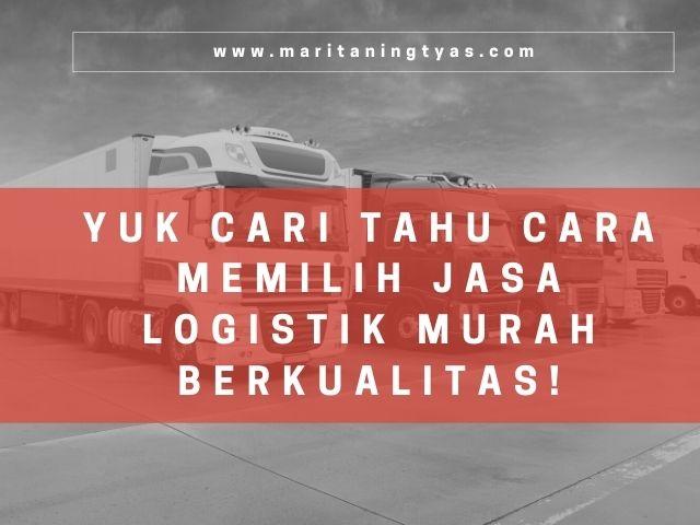 jasa logistik murah