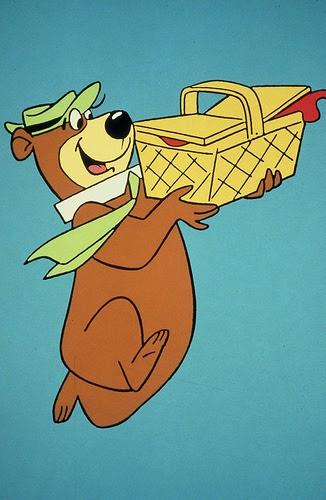 Yogi Bear Quotes Picnic Basket: Skating Buffalo: Y Is For Yogi Bear