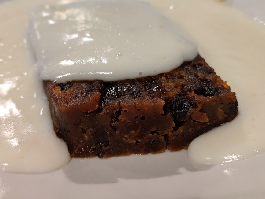 Christmas & Santa at Cragside Review  - christmas pudding