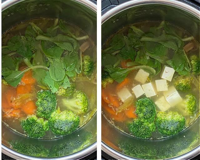 Instant Pot Ramen Soup Steps 3