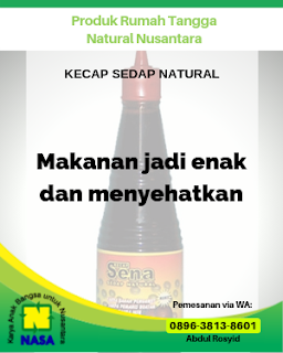 Kecap Sedap Natural (SENA) 275gr