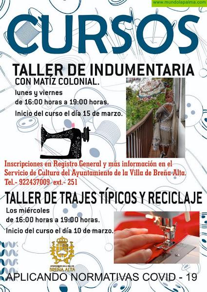 El Ayuntamiento de Breña Alta pone en marcha talleres sobre indumentaria típica y reciclaje
