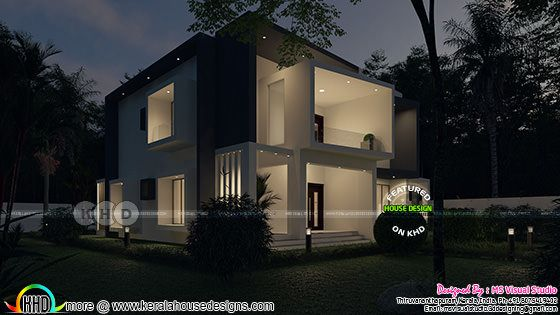 Night view rendering