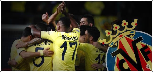 Villarreal Bakambu Celebrates