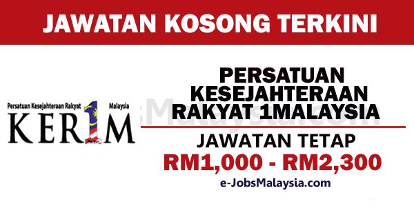 Persatuan Kesejahteraan Rakyat 1Malaysia