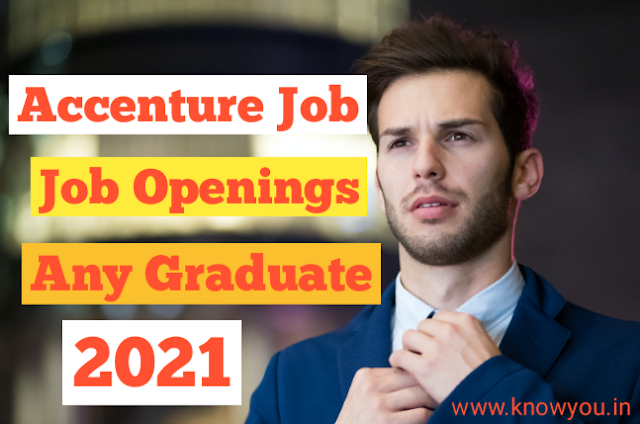 Latest Accenture Recruitment, Accenture Job Vacancy 2021, Fresher Graduate job 2021  Latest Accenture Recruitment, Accenture Job Vacancy 2021, Fresher Graduate job 2021  Accenture January 2021, Job Vacancy for Fresher Accenture is Hiring fresher Graduate. All Streams can Apply : BA, BCOM,Bsc,BBA, Post - New Associate All fresher can Apply Department - Query Management Age - No any Limit Qualification - Any Graduate Selection - Based on Interview Job Location - Hyderabad More Details Apply now