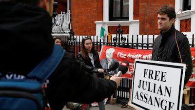 Maandamano Yaadhimishwa London Baada ya Kukamatwa Wikileaks