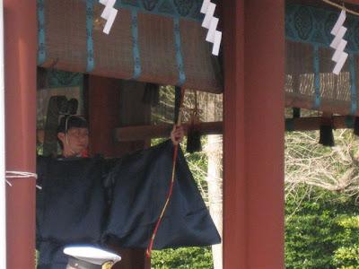 鶴岡八幡宮節分:鳴弦