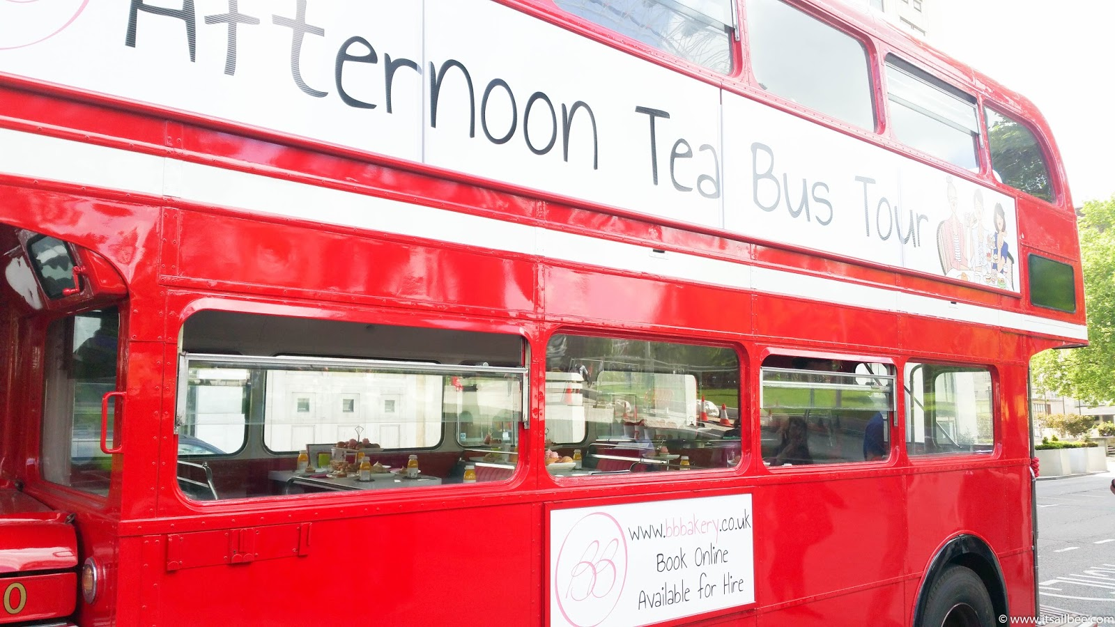 A Touch of Vintage | BB Bakery Afternoon Tea On A London Bus