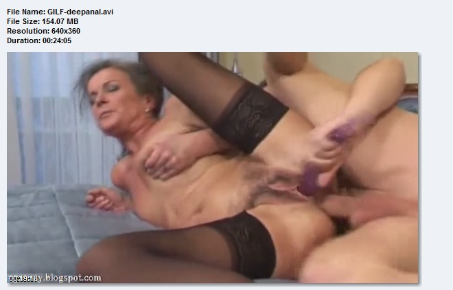Something ugly granny anal